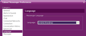 Language preferences